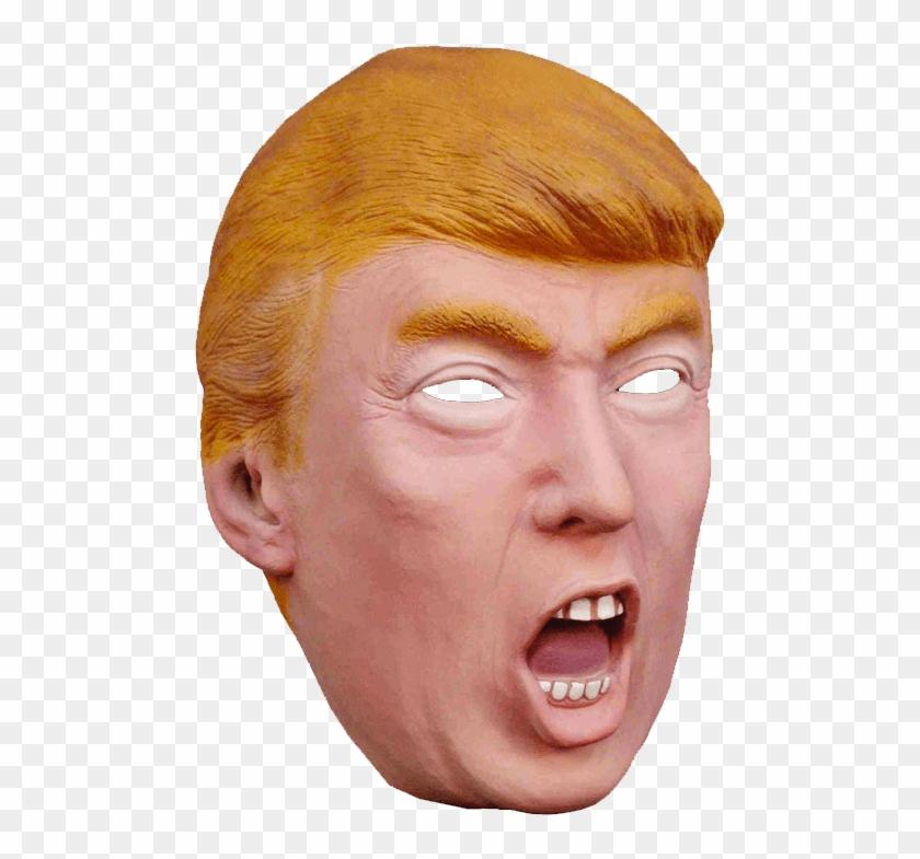Donald Trump Fantasy Mask - Trump Mask Clipart #487237