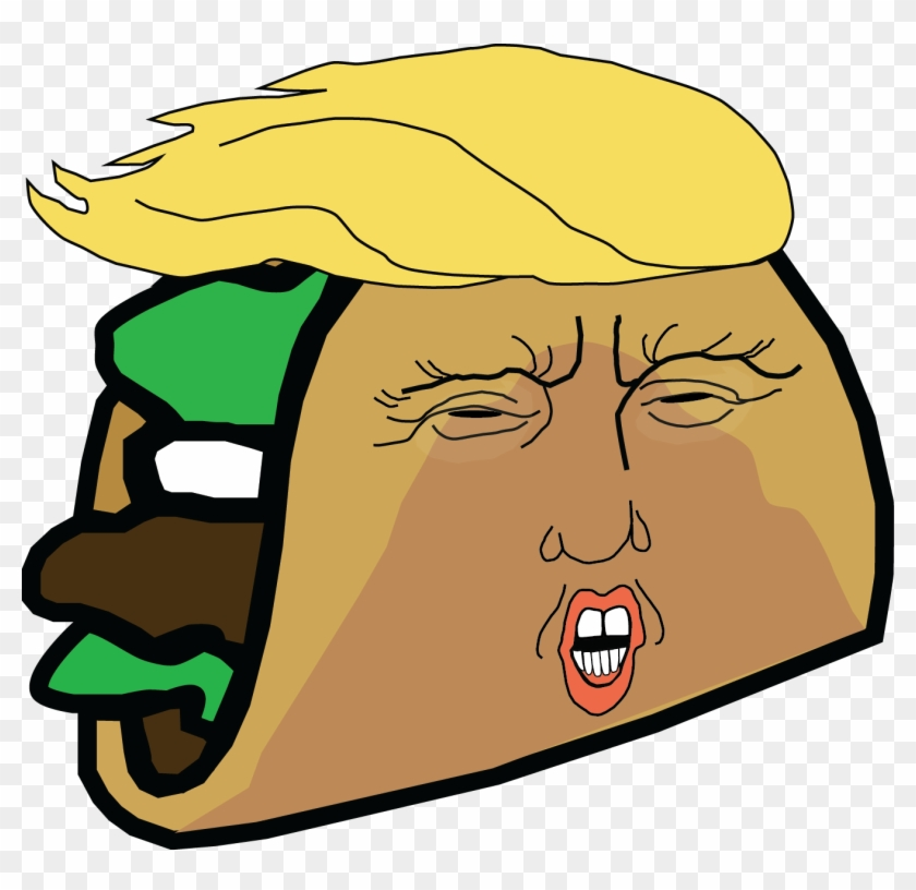 Restaurant Offers Discounts Thanks To Trump - Donald Trump Taco Stand Clipart #487711