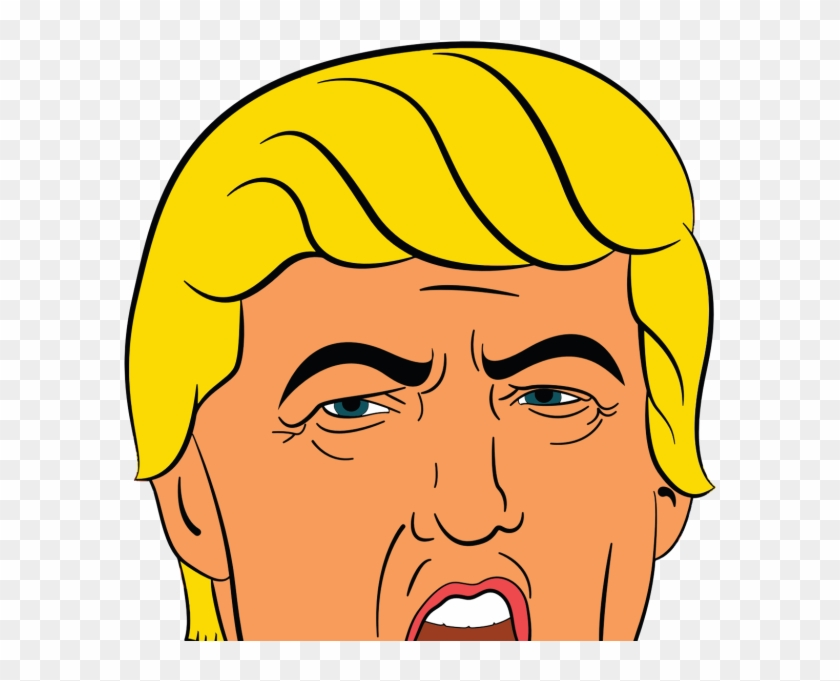 Public Domain - Donald Trump Clipart #488558