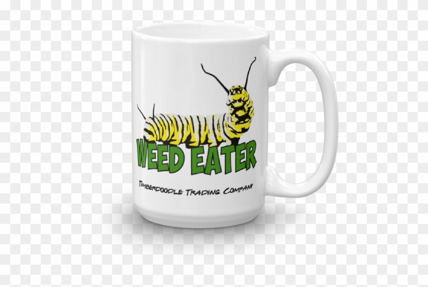 Weed Eater Mug - Coffee Cup Clipart #4802189