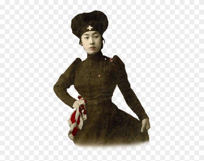 #japanese #nurse #retro #vintage #japan #woman #girl - Asians In The Victorian Era Clipart #4805984