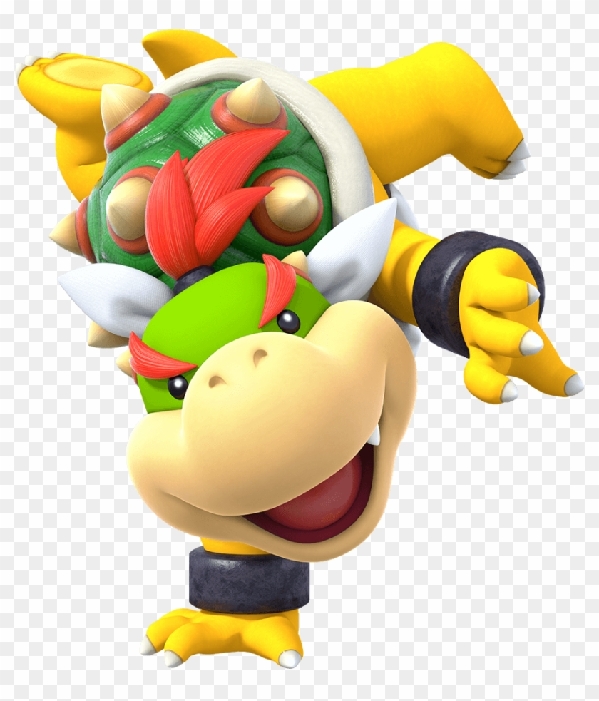 Bowser Jr Plush Png Png Download Character Super Mario
