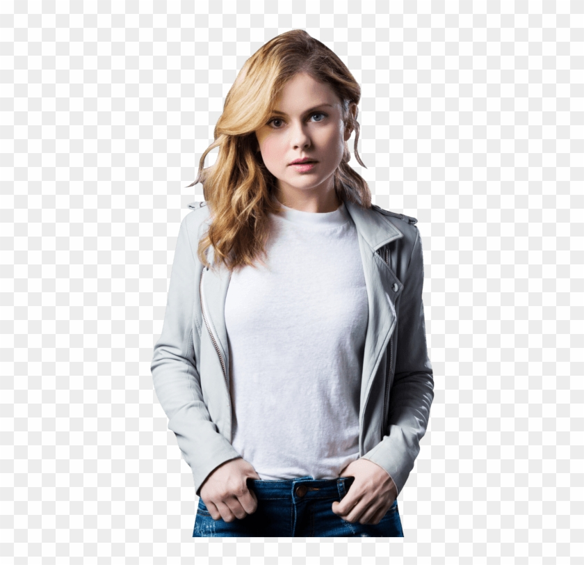 Hanna) I Pace In The Forest, Half Of My Form Shimmering - Rose Mciver Model Clipart #4830009