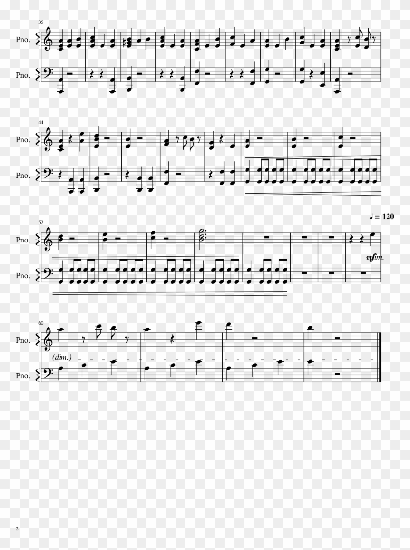 Fantastic Beasts And Where To Find Them Sheet Music - Sheet Music Clipart #4835978