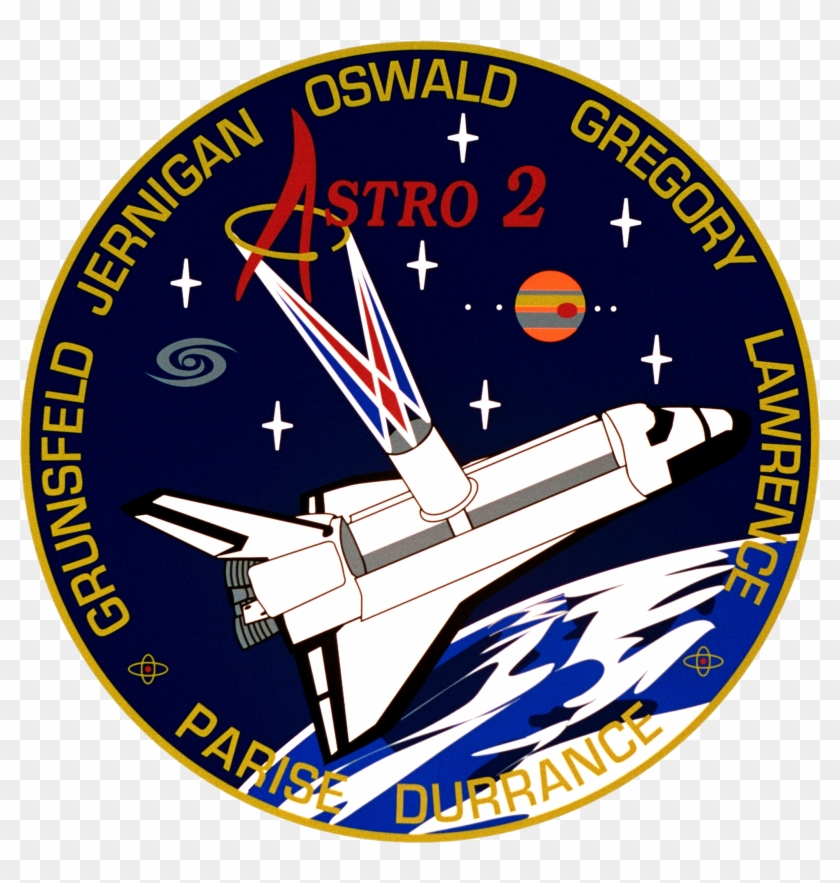 Nasa Space Shuttle Program Images Sts 67 Mission Patch - Space Shuttle Clipart #4849361
