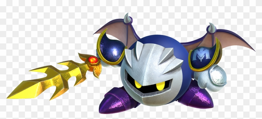 View Samegoogleiqdbsaucenao Ksa Meta Knight Artwork - Kirby Star Allies Meta Knight Clipart #4850096