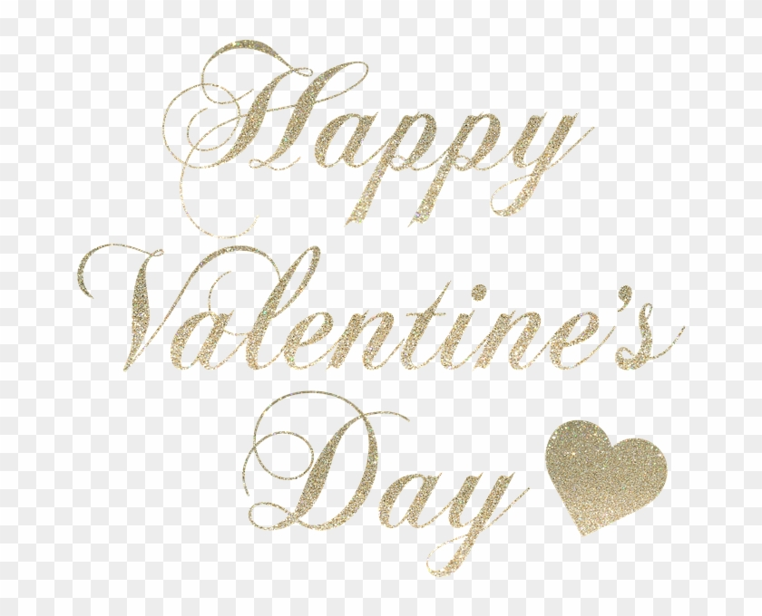 Happy Valentine's Day Happy Valentines Day - Heart Clipart #4857586
