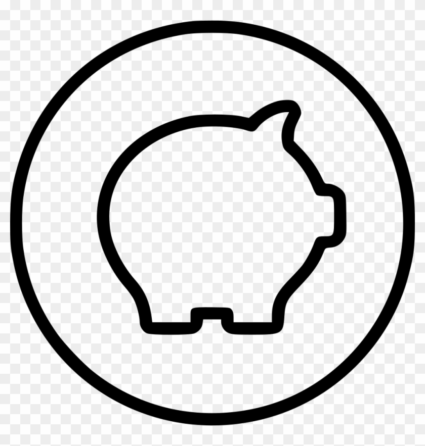 Piggy Pig Bank Money Save Banking Finance Comments - Cost Effective Treatments For Cancer Clipart #4858571