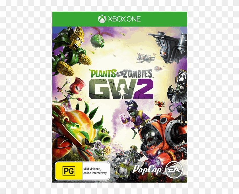 Plants Vs Zombies Garden Warfare 2 - Xbox One Games For 7 Year Old Clipart #4861224
