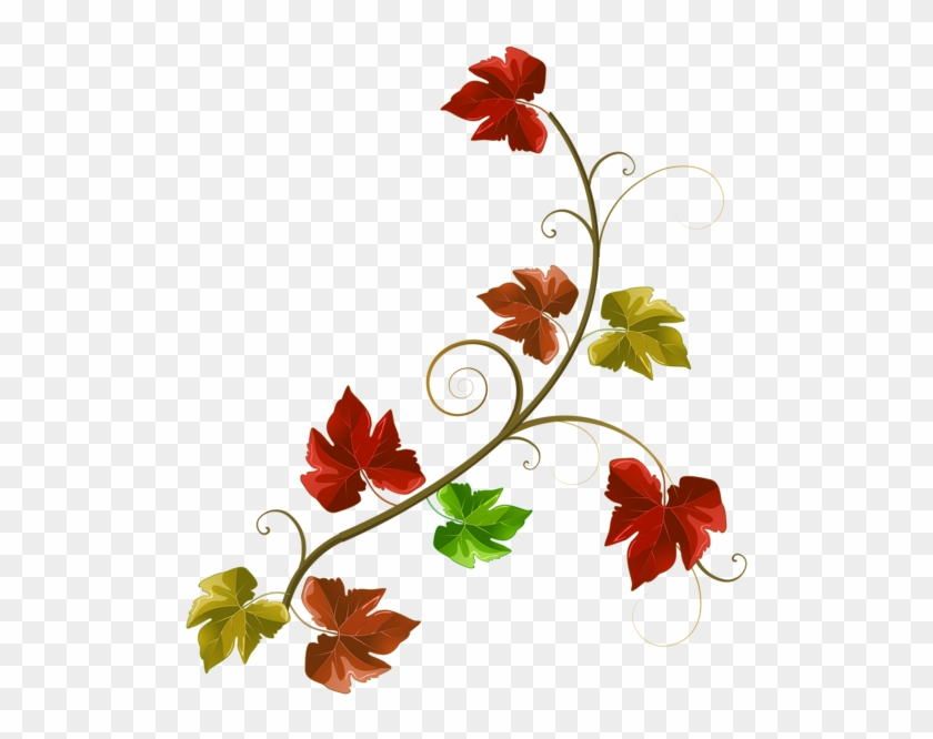 Autumn Leaves Decoration Clipart Png Image - Autumn Leaves For Decoration, Transparent Png #4875089