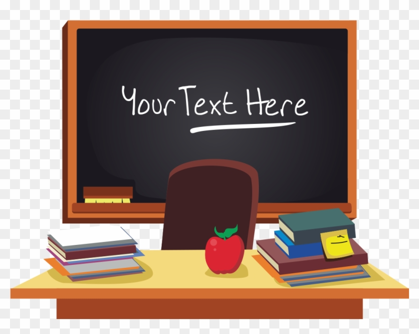 Teacher Clip Art School Teachers Desk Background Png Download 4876729 Pikpng