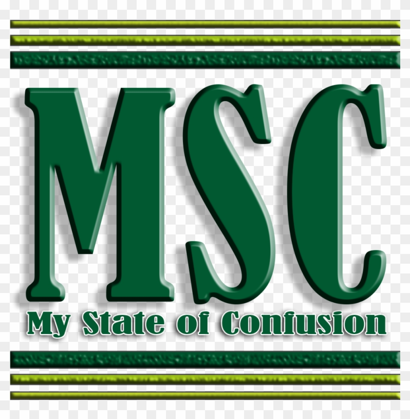My State Of Confusion - Graphic Design Clipart #4882241