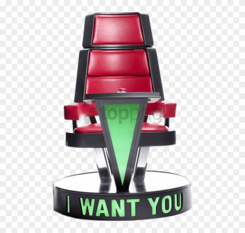 Free Png The Voice Png Png Images Transparent - Voice I Want You Chair Clipart #4884469