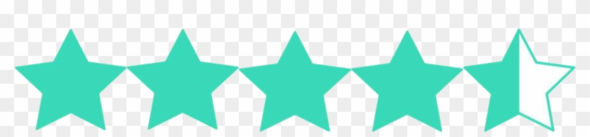 From The Moment I First Opened The File, I Was Very - 4 1 2 Star Rating Clipart #4890538