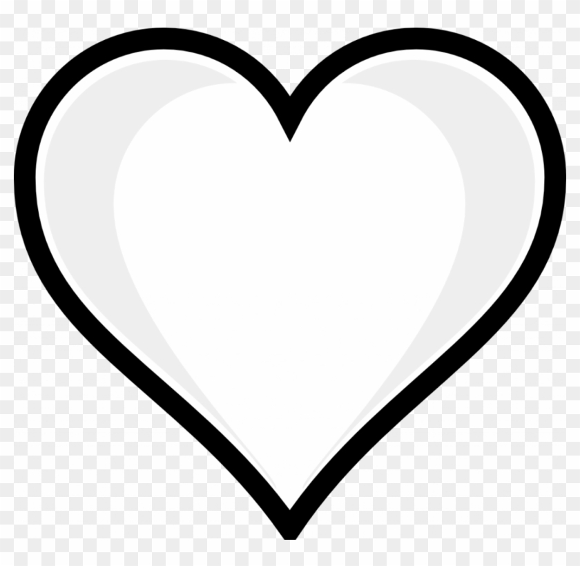 Heart Printable Coloring Pages Pintrest With Hearts - Heart Emoji Coloring Pages Clipart #4895064