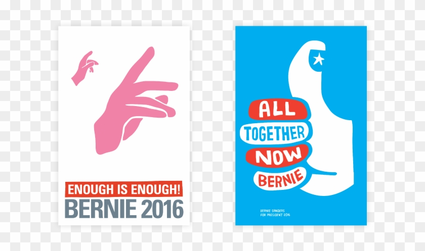 Artists For Bernie Sanders Posters - Poster Clipart #492808