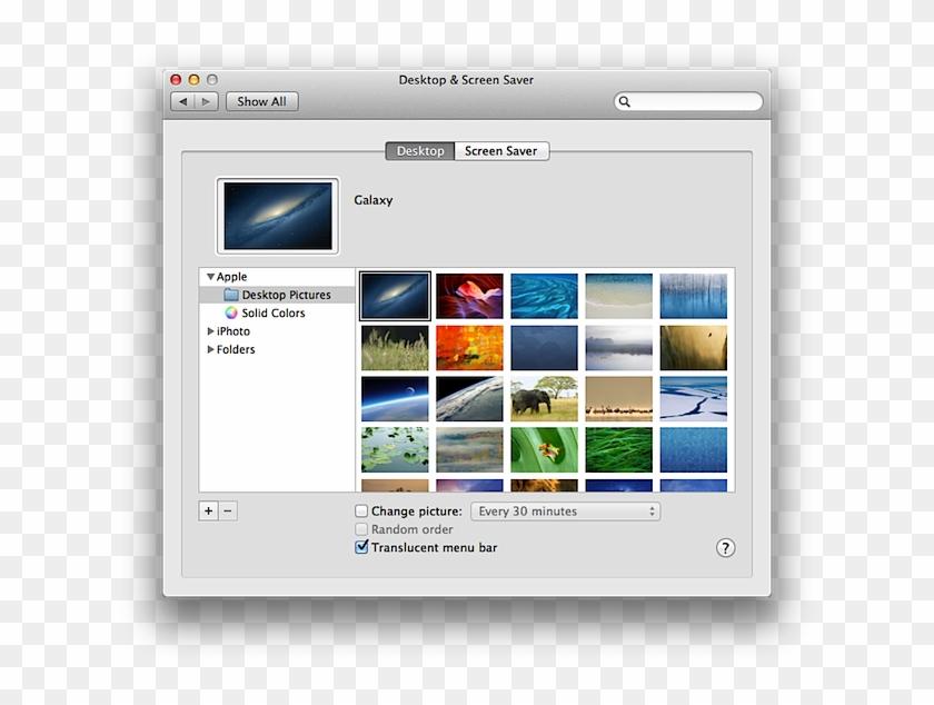 Desktop Preferences In System Preferences - Mac Os System Preferences Keyboard Clipart #493331
