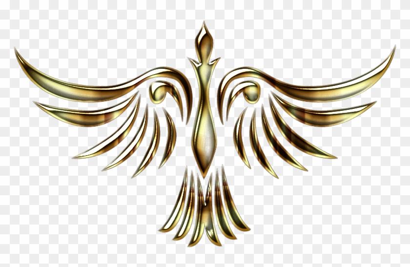 Phoenix Bird 1 Clipart Icon Png - Golden Phoenix Png Logo Transparent Png #493401