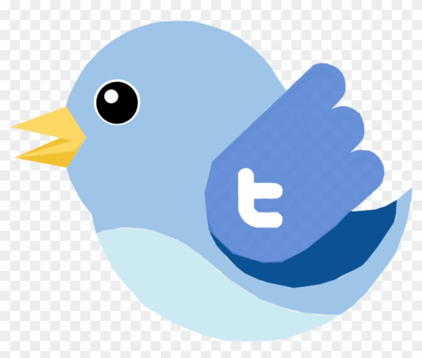Free Png Download Twitter Bird Vector Png Images Background - Twitter Clipart #494282