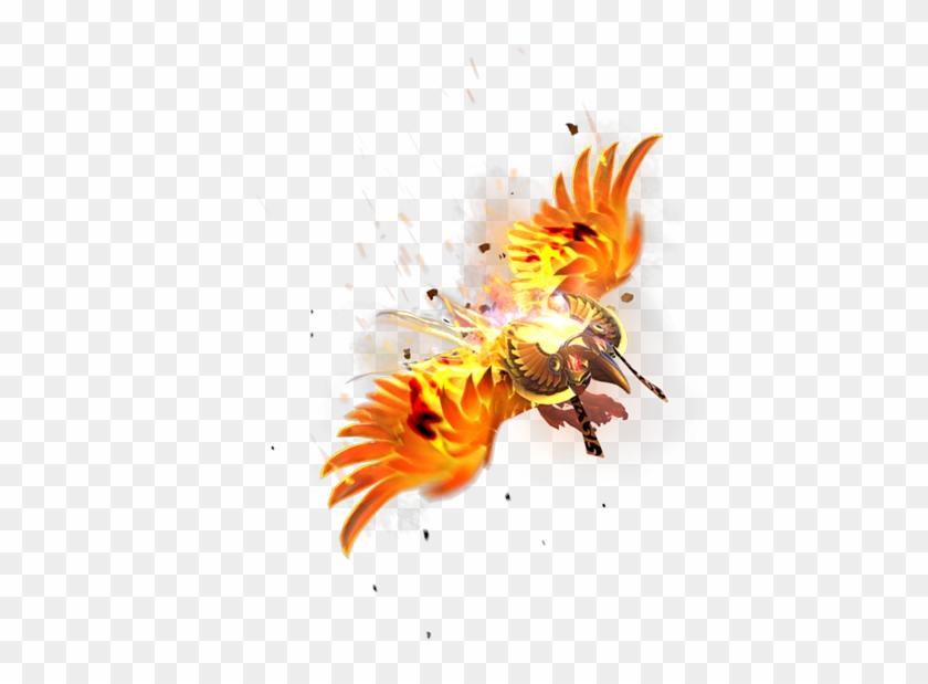 Solar Forge - Dota 2 Phoenix Png Clipart #495209