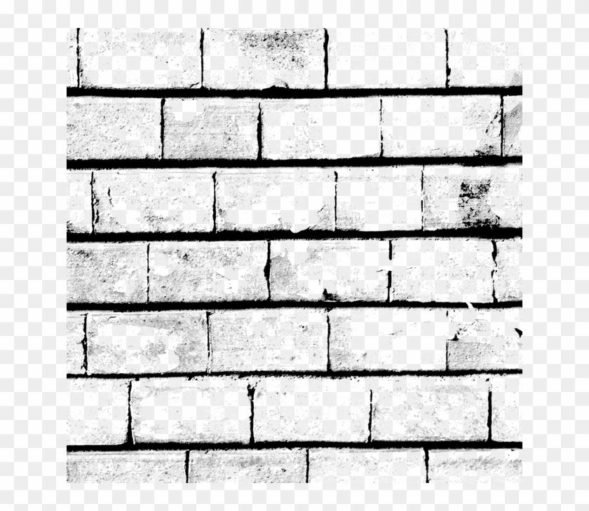 Black And White Brick Wall - White Black Brick Wall Design Clipart@pikpng.com