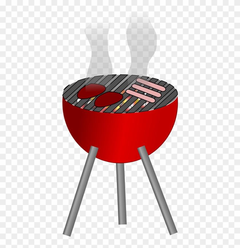 Bbq Tools Free Barbecue - Bbq Grill Clip Art - Png Download #495806