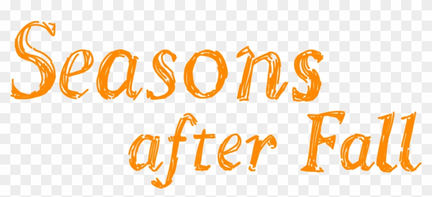 'seasons After Fall' Is Artistic Indie Bliss - Seasons After Fall Logo Clipart #497310