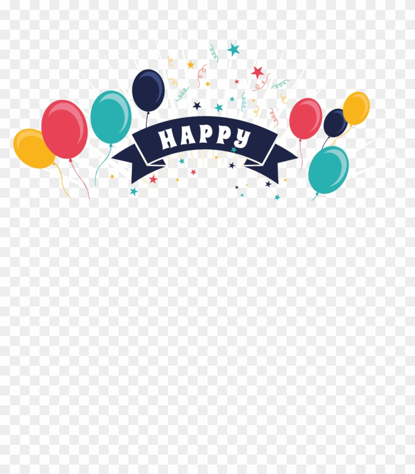 Happy Birthday Png Text Happy Birthday Vectors Free Clipart 498341 Pikpng
