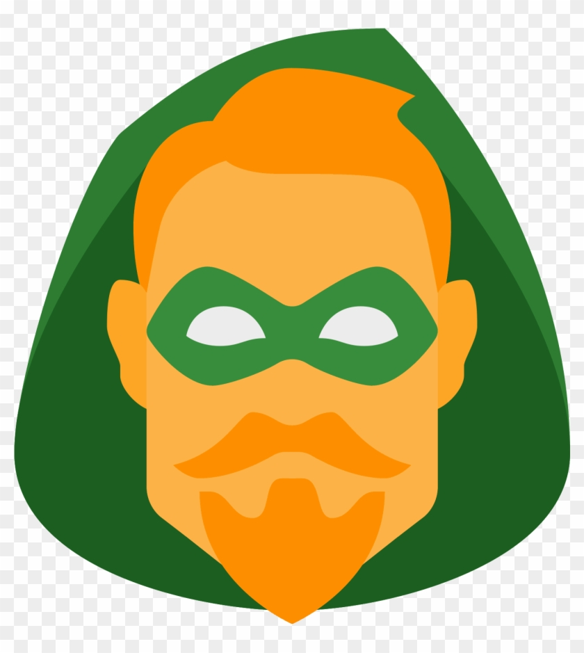 Green Arrow Dc Icon - Green Arrow Icon Dc Clipart #498660