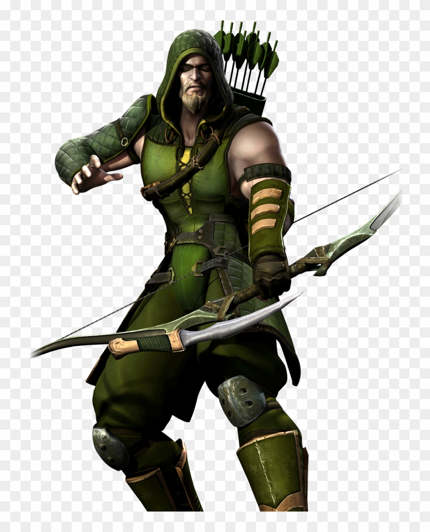 Latest Images - Injustice Green Arrow Bow Clipart #499094