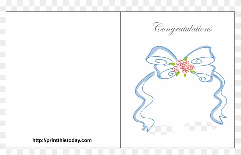 3300 X 2550 5 - Free Printable Wedding Congratulation Cards Templates Clipart #499382