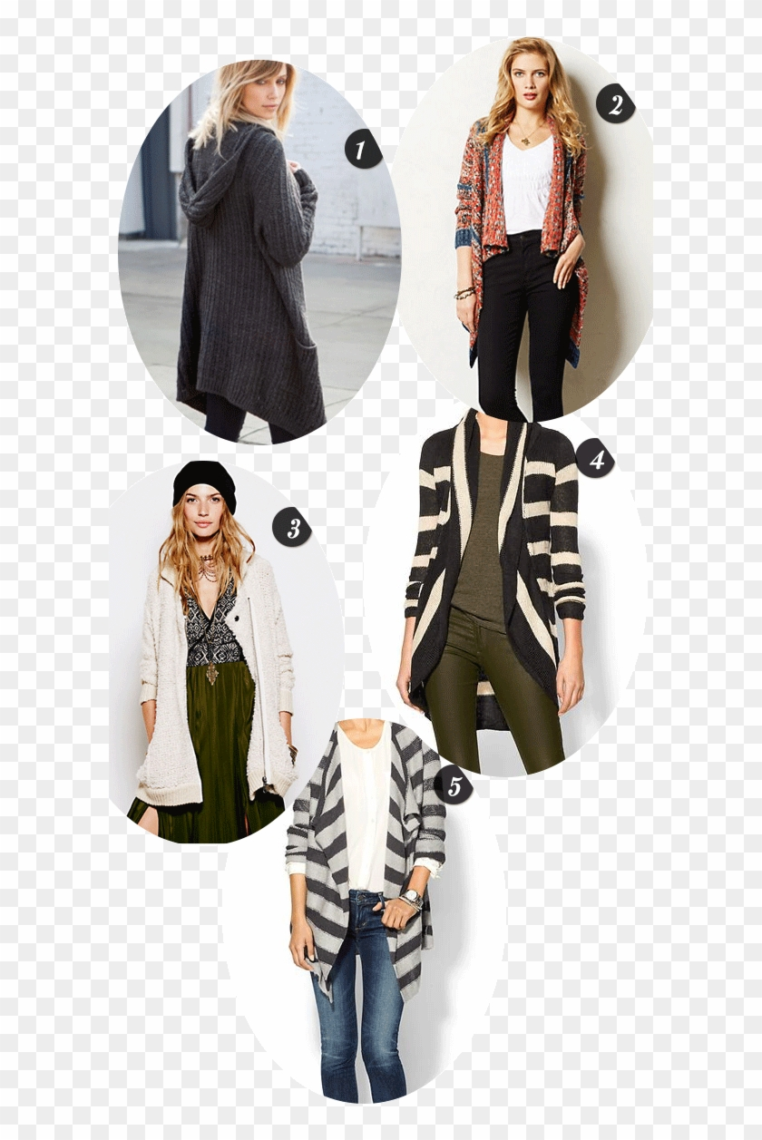 Lulu Hooded Cardigan $58 Available At Brandy Melville - Formal Wear Clipart #4901235