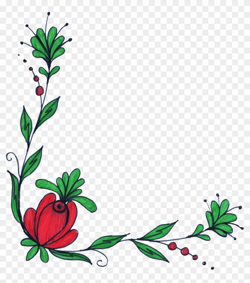 Png File Size - Border Designs For Drawing Clipart #4912996