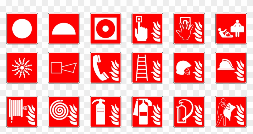 They Need To Be Tested And Have Their Batteries Changed - Fire Fighting System Symbol Clipart #4915981