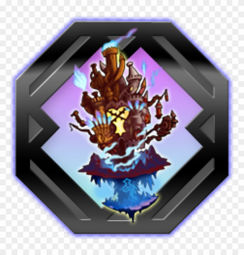 End Of The World - Kingdom Hearts Hollow Bastion Clipart #4932751