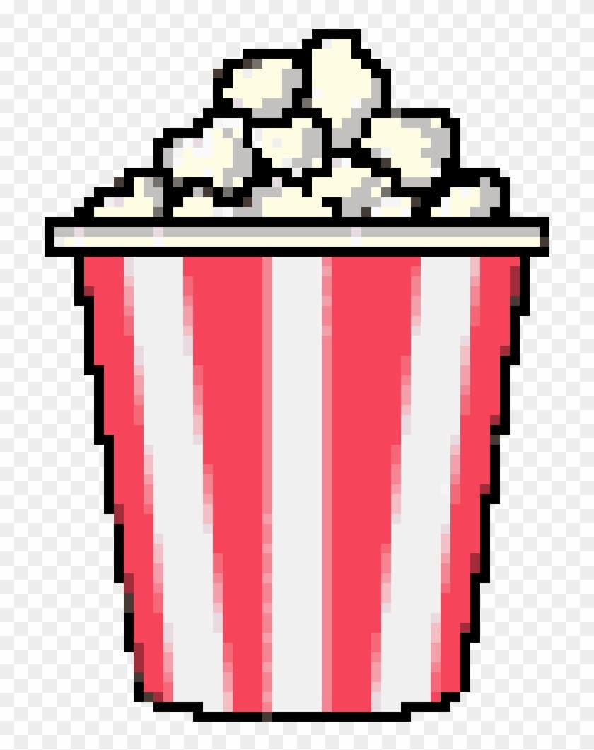 Cutie Pixel Pixels Popcorn Palomitas Cinema Kawaii