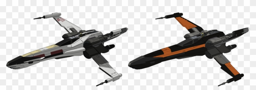 Fan Creationswanted To See How The T 85 X Wing Would - T 85 X Wing Star Wars Png Clipart #4936536