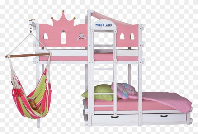 Letti A Castello Con Lo Scivolo.Bunk Bed White Amarillo Letto A Castello Con Lo Scivolo Hd Png