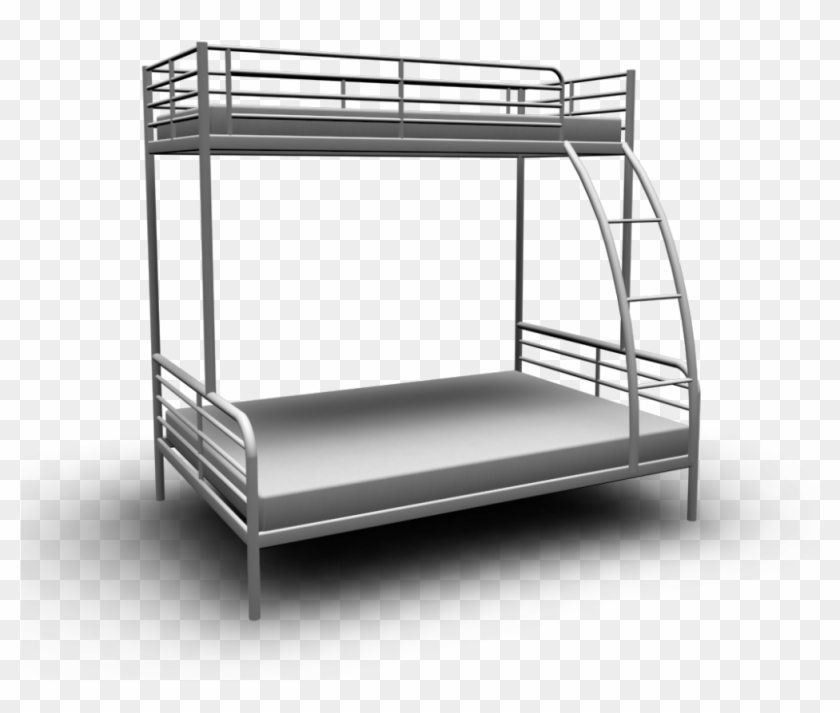 Ikea Bunk Bed Mattress Pictures Ikea Twin Over Full Metal Bunk Bed Clipart 4938186 Pikpng