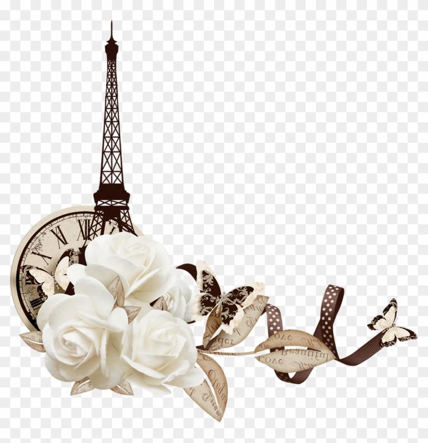 Tubes De La Tour Eiffel - Eiffel Tower Clipart #4941903