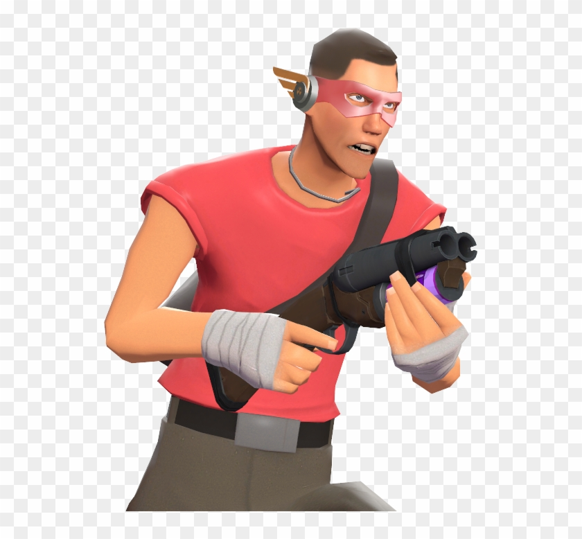Number 1 Fan Team Fortress 2 Scout Soda Popper Clipart 4943611 Pikpng