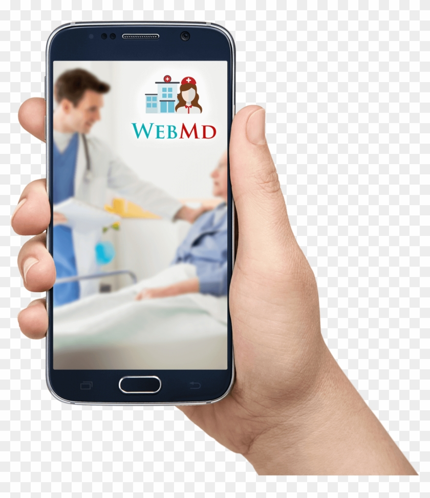 Health Information And Decision-support Tools Including - Android Mobile In Hand Png Clipart #4945732