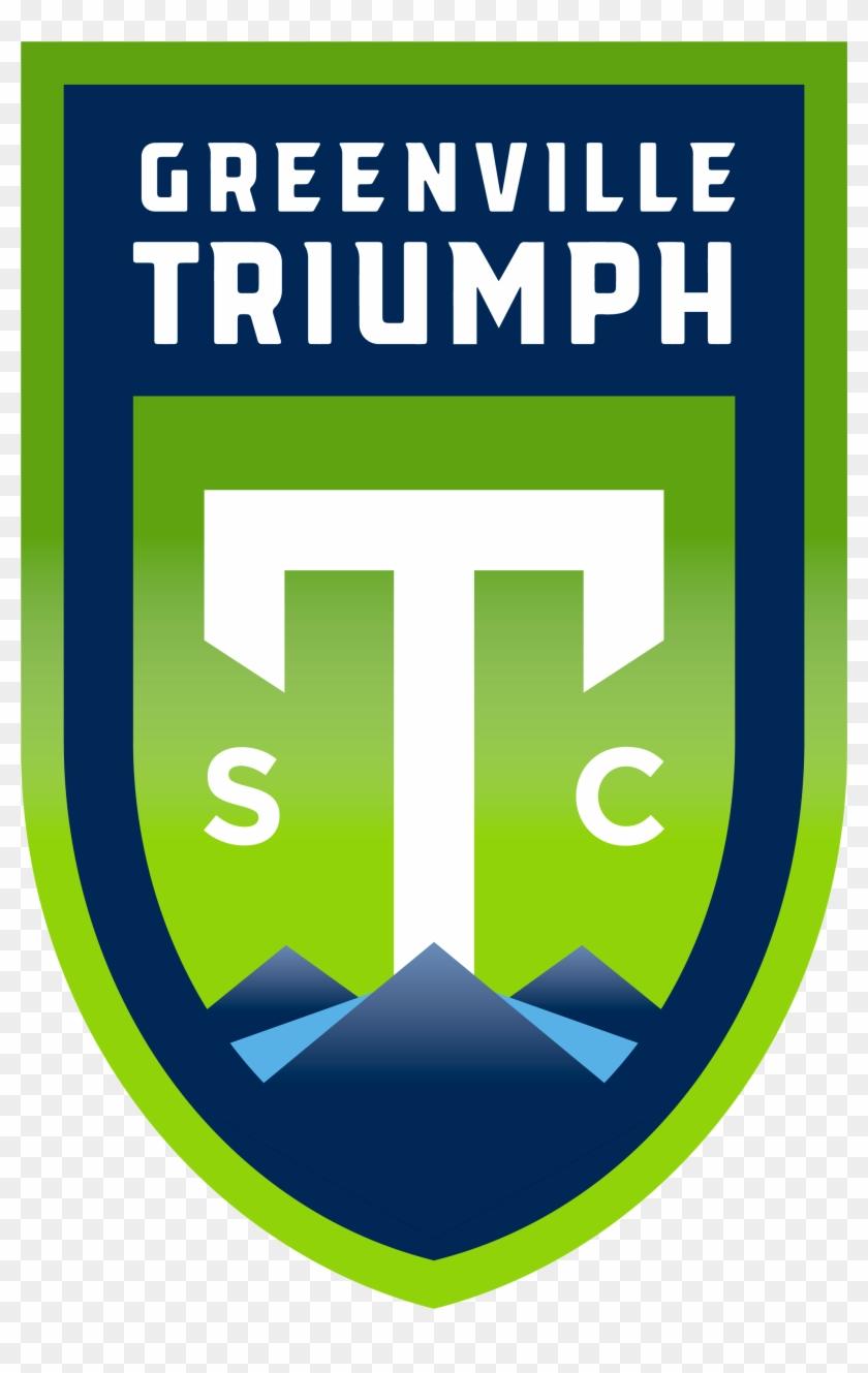 Greenville Triumph Sc Logo Usl League One - Greenville Triumph Soccer Clipart #4966671