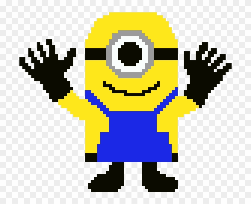 Minion Jazz Hands Pixel Art Minions Hd Png Download