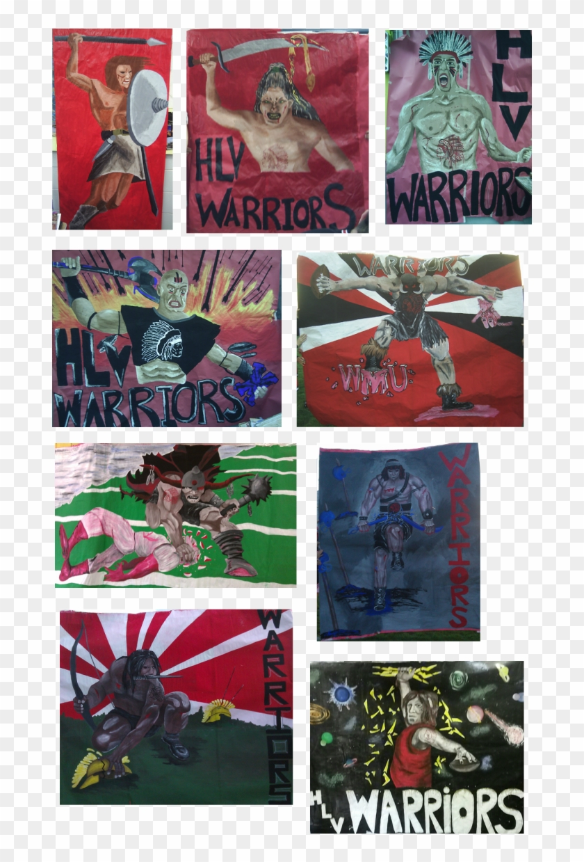 Every Year I Paint A Banner For The Varsity Football - Collage Clipart #4976207