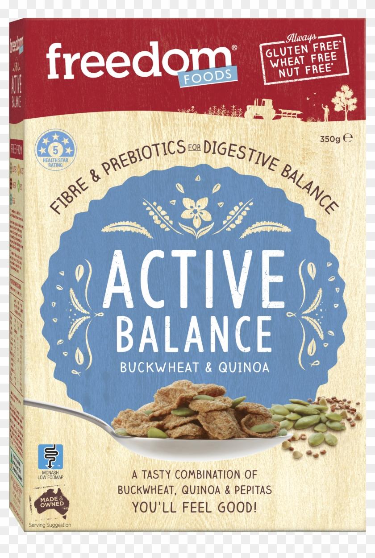 Active Balance Buckwheat Quinoa Transparent Background - Freedom Foods Active Balance Buckwheat & Quinoa Clipart #4976987