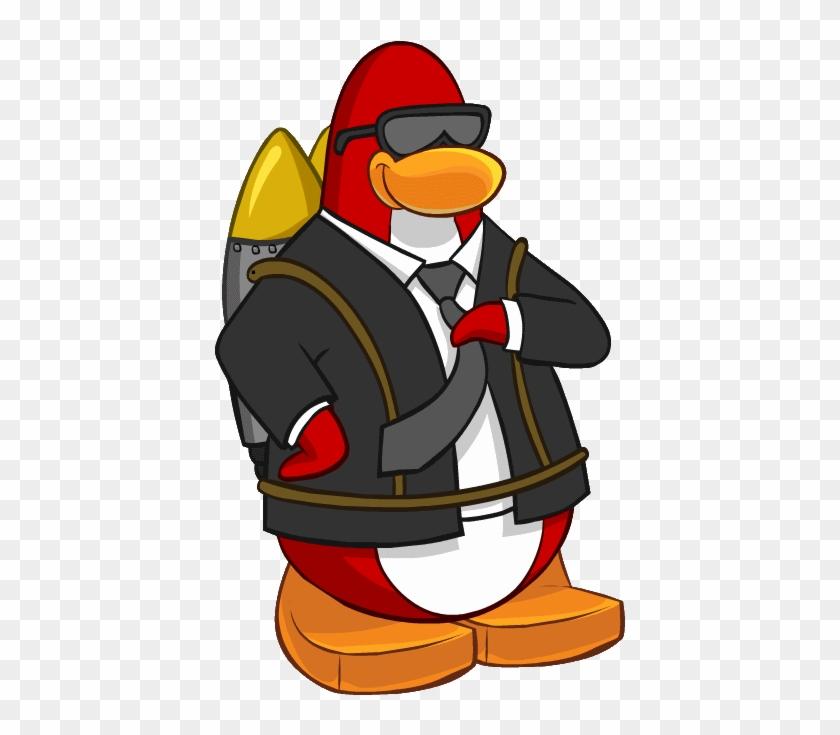 Club Penguin Jet Pack Guy Clipart #4981680