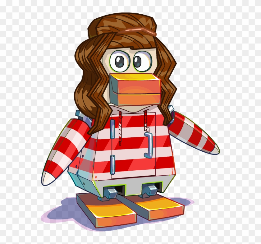 Meggbot - Club Penguin Halloween Bot Clipart #4981862