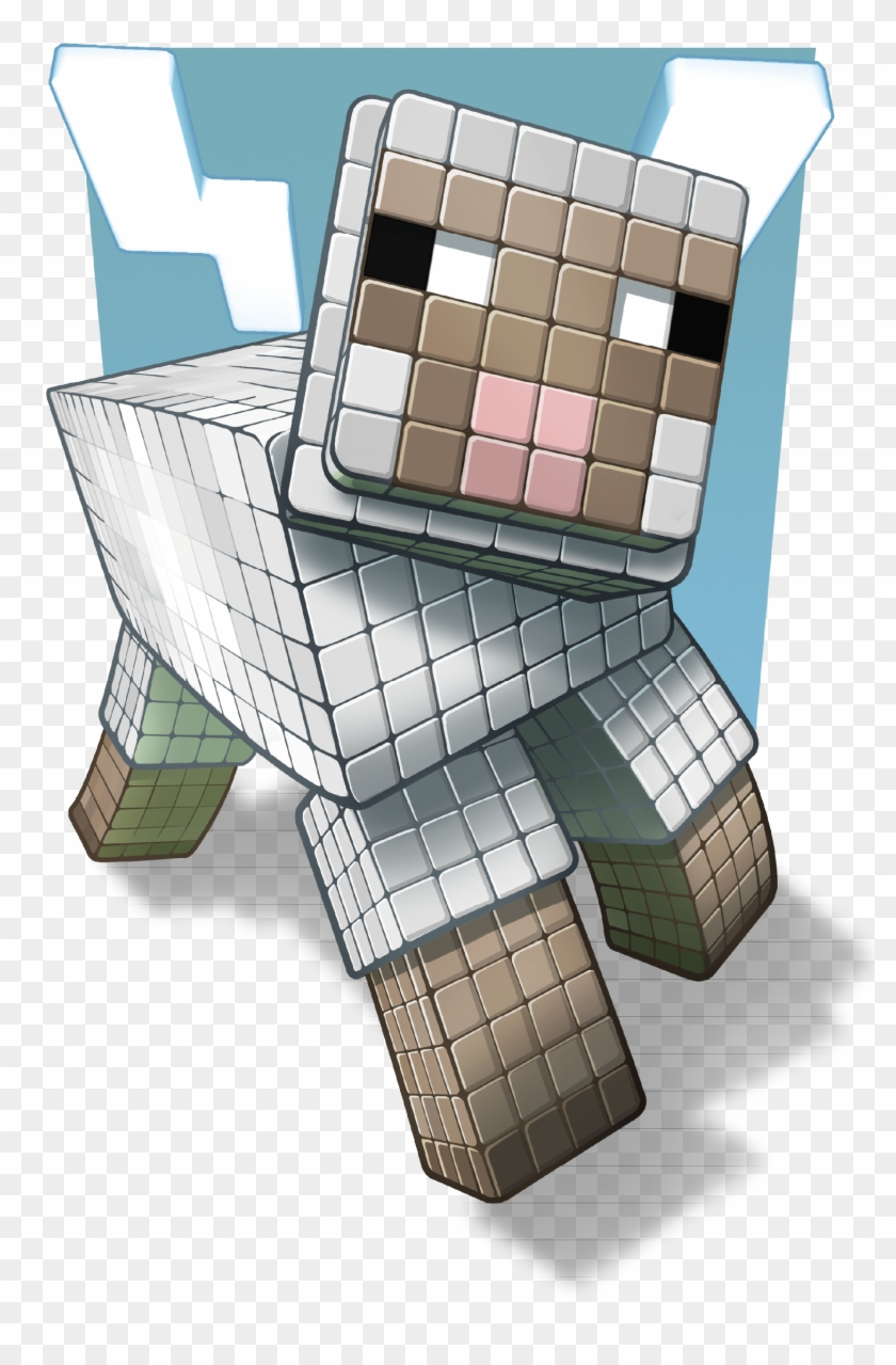 Sheep Are Your Source Of Wool, And That Should Never - Primagames Com Minecraft Mob Clipart #4987244