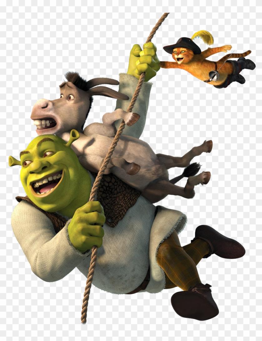 Shrek And Donkey Clipart At Getdrawings - Transparent Background Shrek Png@pikpng.com